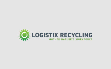 logistix recycling brand identity